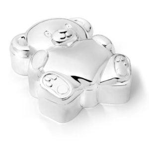 Teddybeer zilver