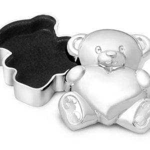 Teddybeer zilver 2