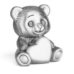 Teddybeer met hart