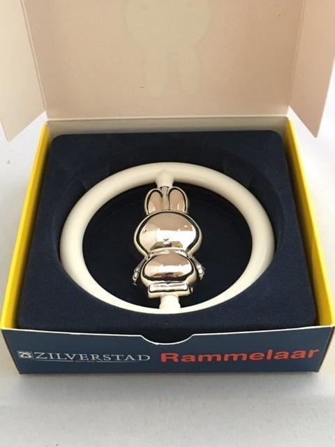 Populair Nijntje   Rammelaar (Zilver) met Gratis verzending! - Juwelier Emo @OS-07