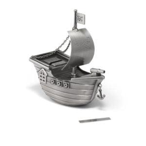 piratenboot spaarpot