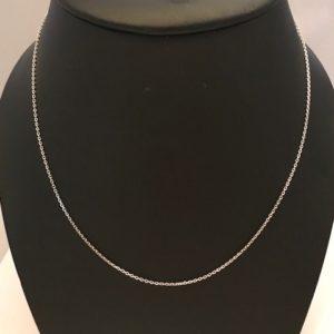 Zilver 925 Collier lengte 40cm 14.95