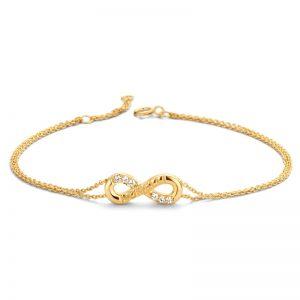 Nomelli Infinity Armband Geelgoud