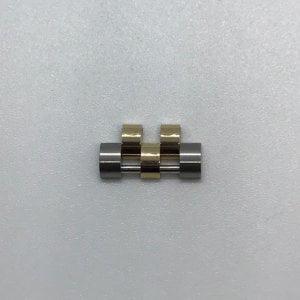 Rolex Jubileum schakel Geelgoud Staal 15x8x3