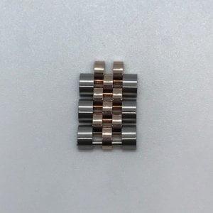 Rolex Jubileum schakel Roségoud Staal 14,2x8,2x3,1 250eu 0957