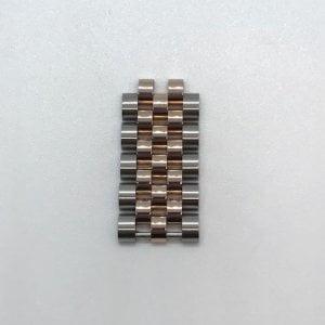 Rolex Jubileum schakel Roségoud Staal 15,3x8,0x2,9 250eu 0973