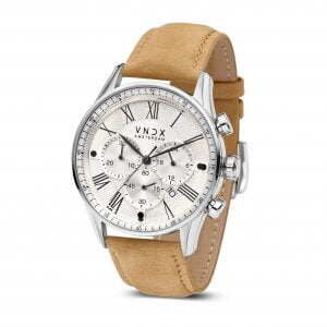 The Boss Leather White Beige LS33056-02 Beige strap