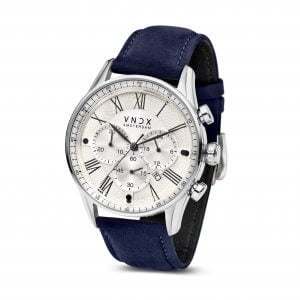 The Boss Leather White Blue - 46mm LS33056-02 Blue strap
