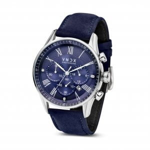 The Boss Leather Blue Blue - 46mm LS33056-03 Blue strap