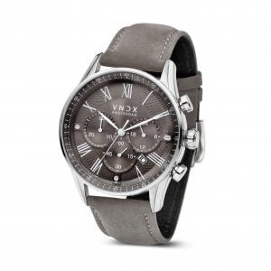 The Boss Leather Grey Grey - 46mm LS33056-16