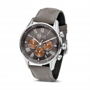 The Boss Leather TT Grey - 46mm LS33056-TT Grey strap