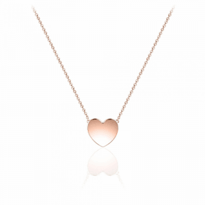 Juwelier Emo - Zilveren Hart Hanger Collier - 01131