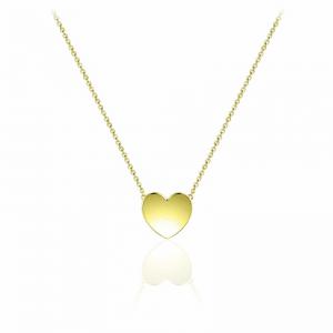 Juwelier Emo - Zilveren Hart Hanger Collier - 01132