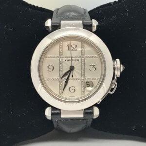 Cartier de Pasha Diamond grid Dial - 44mm