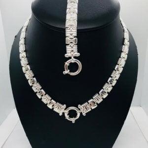 Bulgari set zilver large