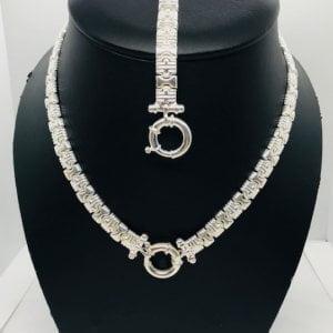 Bulgari set zilver medium