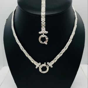 Bulgari set zilver small