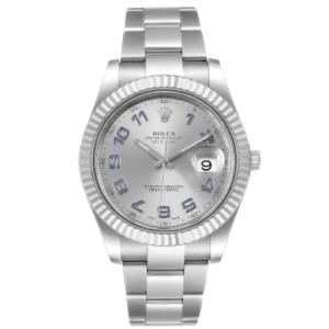Rolex Datejust 116334 Blue Numerals 41MM - Watch only