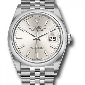 Rolex Datejust 126200 Ref. - 2019 NEW - SILVER DIAL