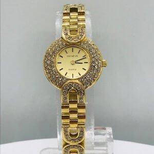 Genève Horloge - 18 Karaat Geelgoud - 3.00crt Briljanten