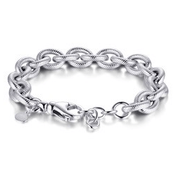 Suzy Style - Fantasie armband Sterling Zilver - 01473