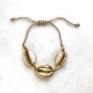 Jean Style - Bracelet One Shells - Goudkleurig