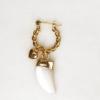 Jean Style - Twisted Hoop Horn Love - Goudkleurig - 15mm