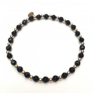PScallme - MIX ONYX GOLD - Sterling Zilver 925