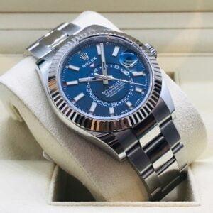 Rolex Sky-Dweller 326934 Blue dial - Dutch Watch - NEW 2020