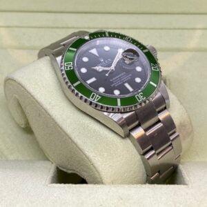 """Rolex Submariner 16610LV """"Kermit"""" 2006 - INCL. BOX - TOP Conditie"""