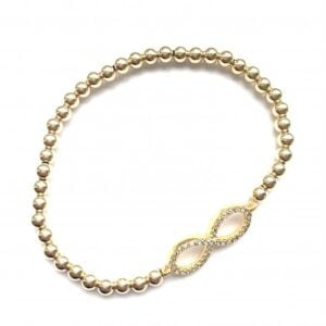PScallme - LUCKY CHARM GOLD - Sterling Zilver 925