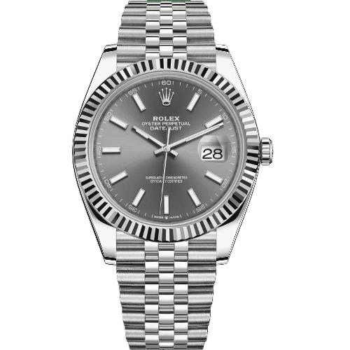 Rolex Datejust 41mm 126334 - Dark Rhodium Dial - NEW