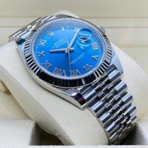 Rolex Datejust 41mm 126334 - Azzurro roman dial - NEW 2020