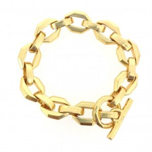 PScallme - LINK CHAIN GOLD - Sterling Zilver 925