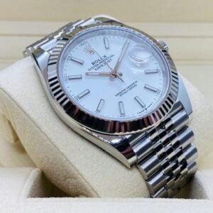 Rolex Datejust 41mm 126334 - White dial - Jubilee Bracelet - NEW 2021