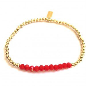 PScallme - CHANCE RED GOLD COLOURED - Sterling Zilver 925
