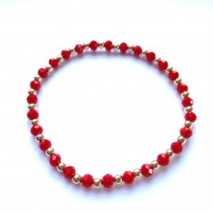 PScallme - MIX RED GOLD COLOURED - Sterling Zilver 925