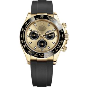 Rolex Daytona 116518LN Yellow Gold Oysterflex - Champagne Dial - NEW 2021