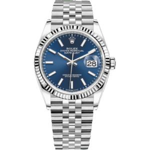 Rolex Datejust 126234 - Blue Dial - Jubilee - 36mm - NEW 2021