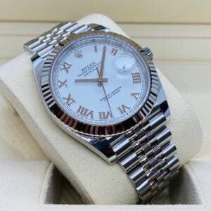 Rolex Datejust 41mm 126334 - White Roman Dial - Jubilee Bracelet - NEW 2020