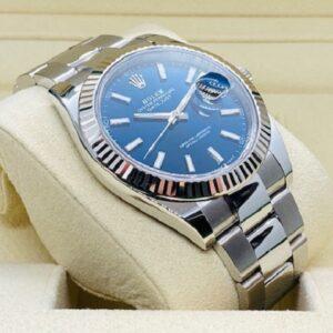 Rolex Datejust 41mm 126334 - Blue index Dial - Oyster Bracelet - NEW 2020