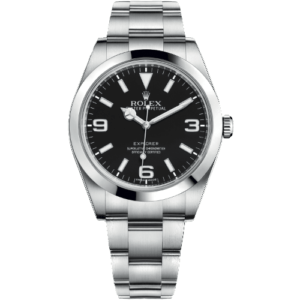 Rolex Oyster Perpetual Explorer 39mm 214270 - Pre-Owned Complete 2011