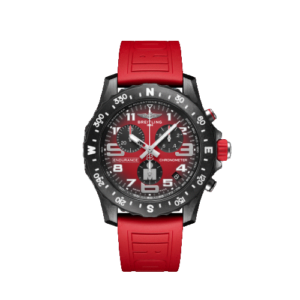 """Breitling Endurance Pro 44mm - """"IRONMAN"""" Red Strap - LIST PRICE € 3300,- (DISCOUNT 20%)"""