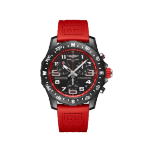 Breitling Endurance Pro 44mm - Red Strap - LIST PRICE € 3100,- (DISCOUNT 19%)