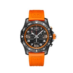 Breitling Endurance Pro 44mm - Orange Strap - LIST PRICE € 3100,- (DISCOUNT 19%)
