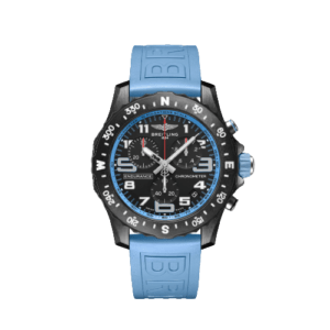 Breitling Endurance Pro 44mm - Baby Blue Strap - LIST PRICE € 3100,- (DISCOUNT 19%)