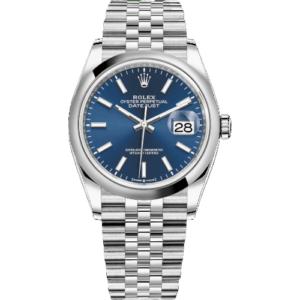 Rolex Datejust 126200 36mm Blue index Dial – Jubilee Bracelet – NEW 2021
