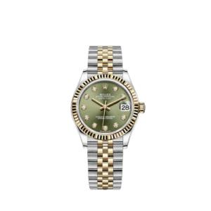 Rolex Datejust 278273 Green Diamond Dial 31mm - Jubilee Bracelet - NEW 2021