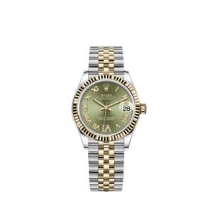 Rolex Datejust 278273 Green Dial 31mm - Jubilee Bracelet - NEW 2021