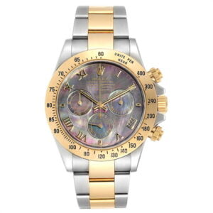 Rolex Daytona 116523 Black Mother of Pearl - PRE-OWNED 2001 or 2002